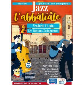 Jazz à l'abbatiale - Les Tontons Zwingueurs
