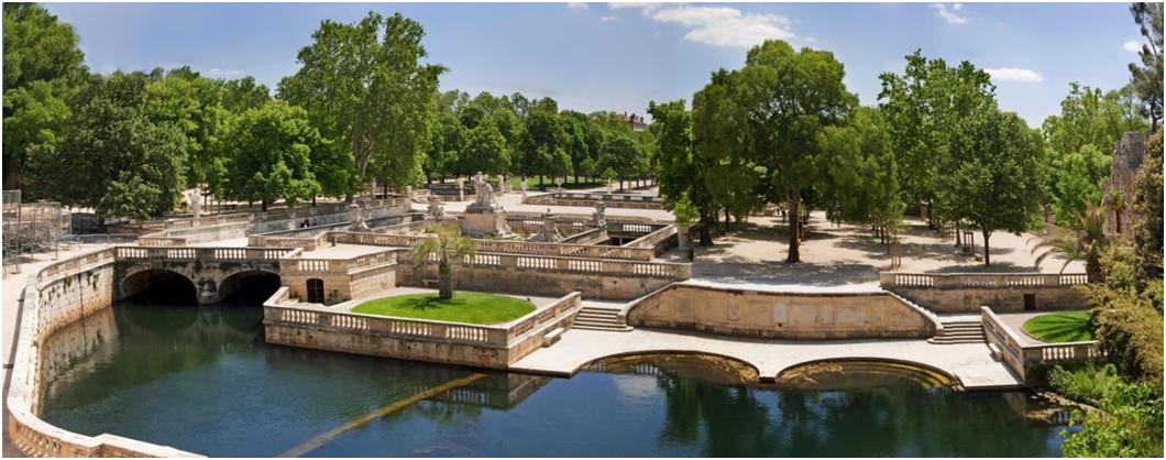 Les Jardins de la Fontaine - Office de Tourisme et des Congrès de Nîmes
