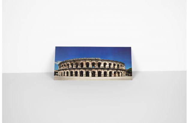 Carte postale panoramique des Arènes