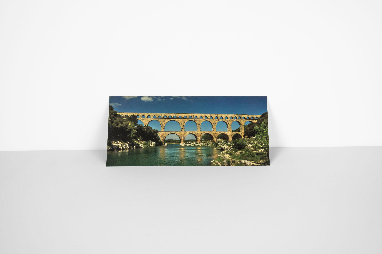 Carte postale panoramique du pont du gard office de tourisme et des congr s de n mes - Office de tourisme du pont du gard ...