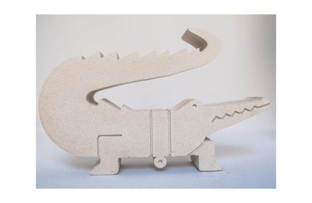 Crocodile 3D naturel