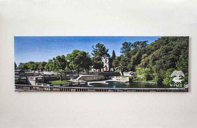 Magnet panoramique Jardins 115x37