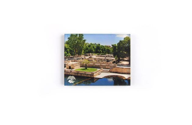 Magnet plexi Jardins de la Fontaine