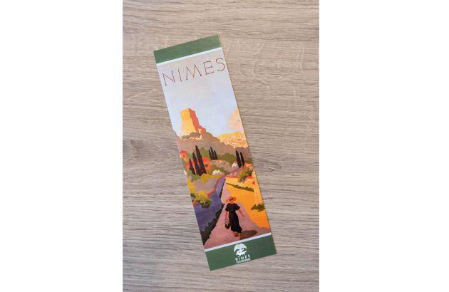 Marque-pages Nîmes rétro