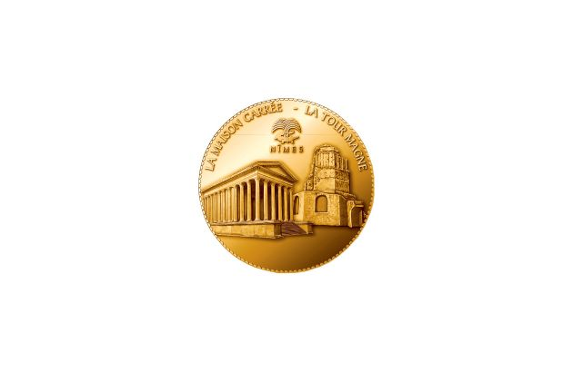 Médaille Arènes de Nîmes