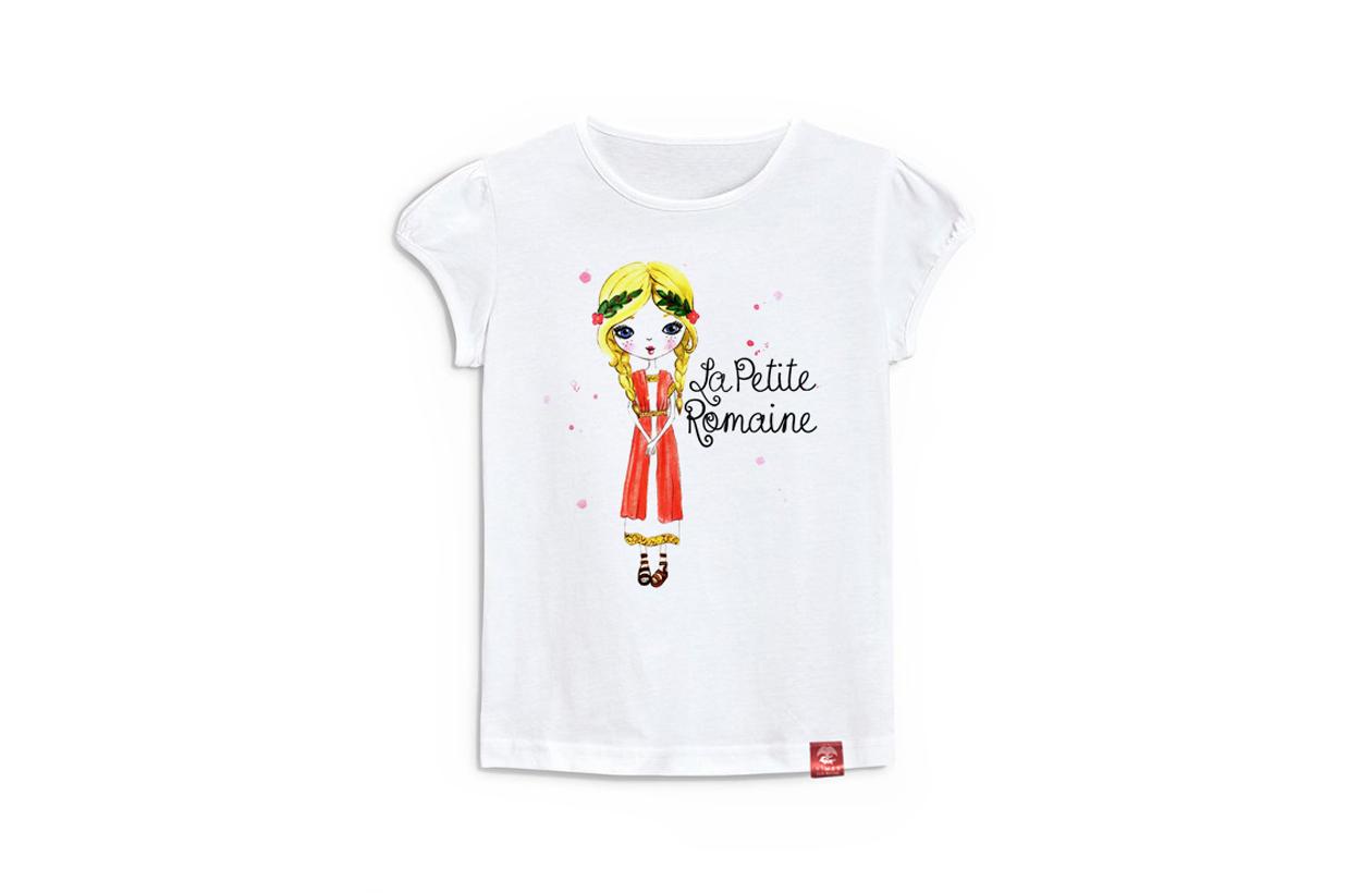 5007f4d85b81b T-shirt fille petite romaine 8 ans - Office de Tourisme et des ...
