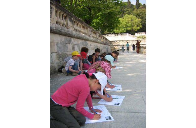 Vacances des 6-12 ans - Croq'paysages