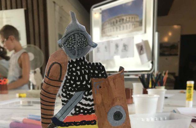 Vacances des 6-12 ans - Un gladiateur dans les Arènes