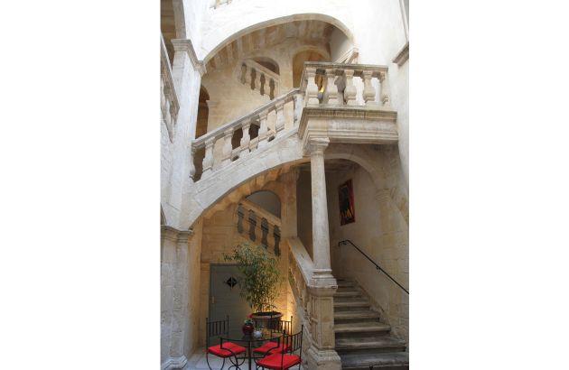 Visite Les escaliers