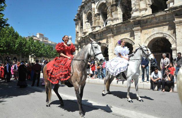 Visite Nîmes et l'Espagne