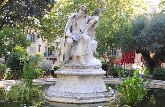 Visite Alphonse Daudet à Nîmes