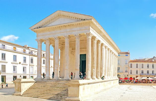 Visite Nîmes la romaine