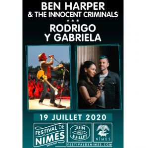 Ben Harper & The Innocent Criminals + Rodrigo & Gabriela